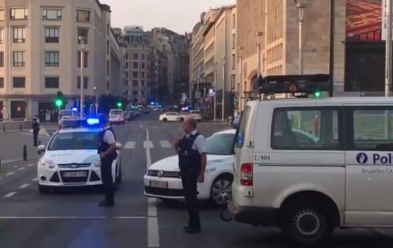 Briseles Centrālajā stacijā karavīri nošāvuši iespējamu teroristu
