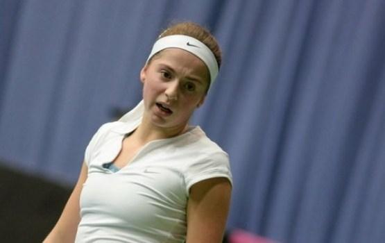 Tenisiste Ostapenko sasniedz Vimbldonas turnīra ceturtdaļfinālu