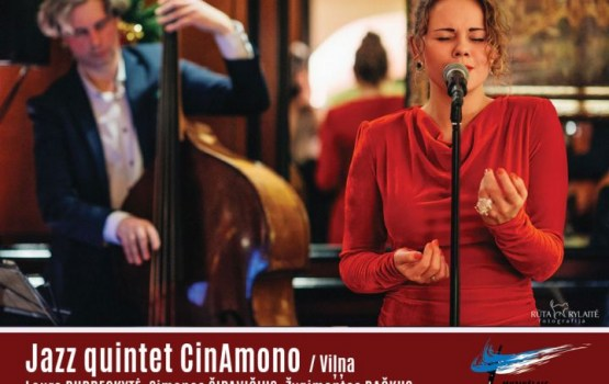 Šodien Andreja Pumpura skvērā uzstāsies Jazz quintet CinAmono