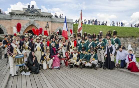 """Festivāls """"Dinaburg 1812"""" izskanējis ar plašu vērienu"""
