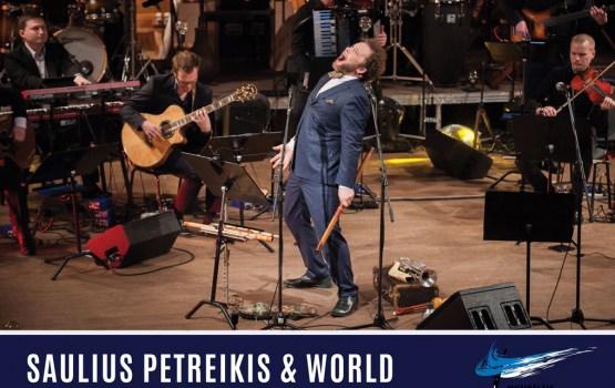 Saulius Petreikis un World orchestra Daugavpilī