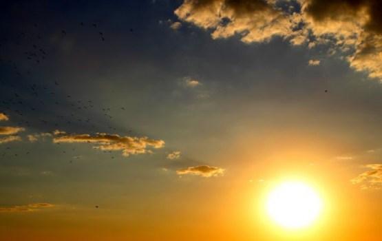 Visā valstī saulains laiks
