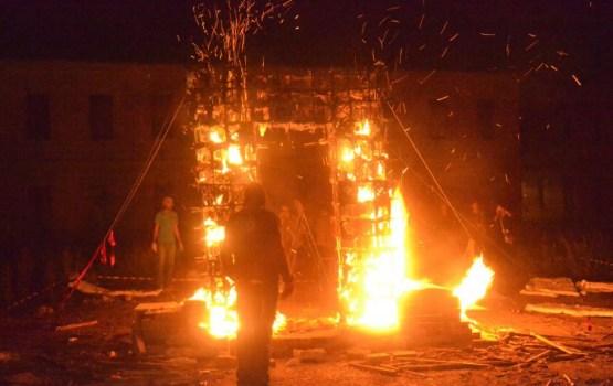 Pie Rotko centra notiks uguns skulptūru parāde