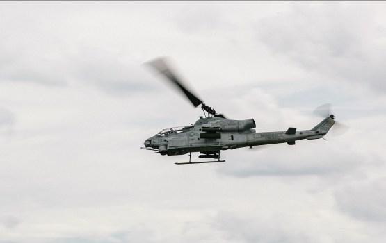 ASV helikopteri turpinās veikt zemos lidojumus Latvijas gaisa telpā