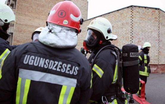 Vakar Daugavpilī dzēsts paaugstinātas bīstamības ugunsgrēks