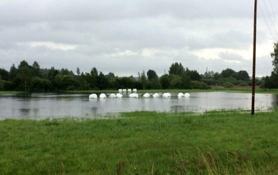 Daugavpils novadā plūdi zemniekiem nodarījuši 1,6 miljonus eiro, bet ceļiem - 369 000 eiro zaudējumus