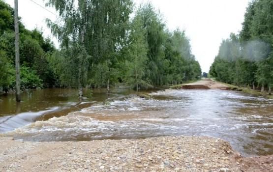 Daugavpils novada pašvaldības infrastruktūrai plūdi nodarījuši 300 000 eiro kaitējumu