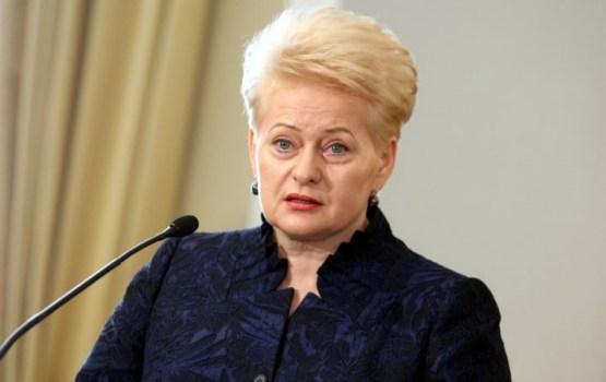Grībauskaite: Kremlis nespēj iegrožot savu naidu pret Rietumiem