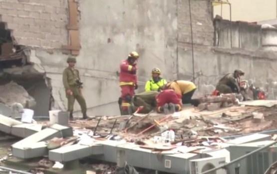 Upuru skaits Meksikas zemestrīcē pieaug līdz 273