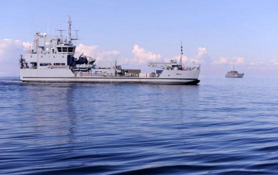 """Baltijas jūrā notiek Jūras spēku mācības """"Flotex 2017"""""""