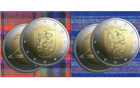 Laiž apgrozībā Kurzemei un Latgalei veltītas piemiņas monētas