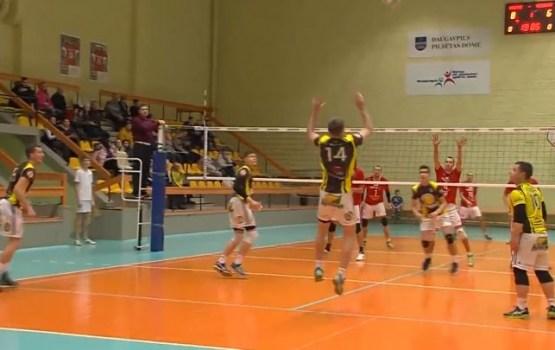 "Daugavpils volejbolisti sakāva savus sāncenšus - ""Ozolnieki"" (VIDEO)"