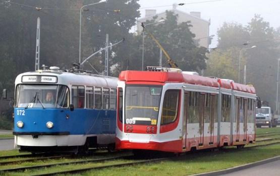 Daugavpilī ar tramvajiem pārvadāto pasažieru skaits deviņos mēnešos pieaudzis par 17%
