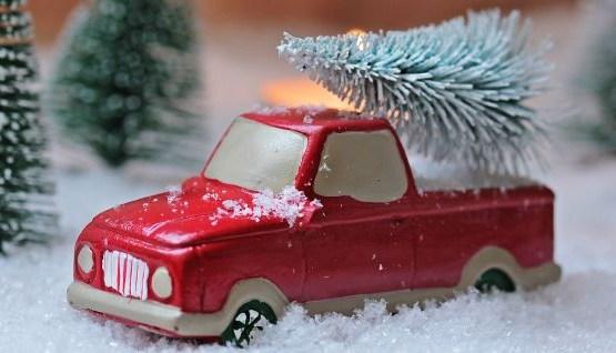 Ziemassvētku eglīšu tirdzniecības vietas