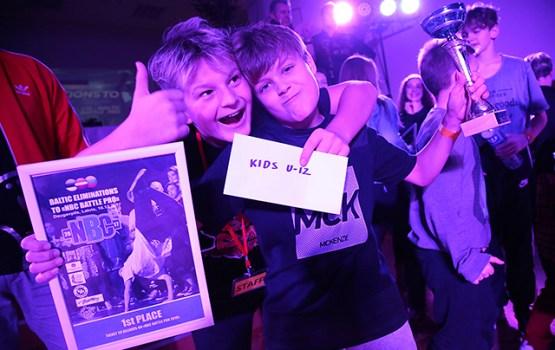 """""""Factory Kingz"""" breika deju skolas audzēkņi dosies uz pasaules čempionāta atlases posmu Minskā"""