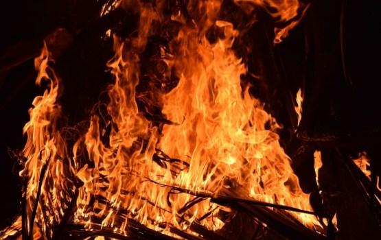 Vakar ugunsgrēkā Rēzeknē gāja bojā cilvēks