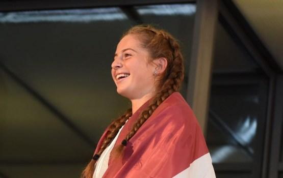 Ostapenko uzvar leģendāro Serēnu Viljamsu viņas atgriešanās mačā