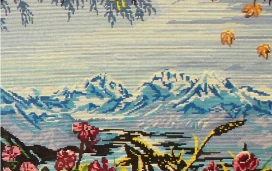 """Alfrēdas Bulionko krustdūriena gleznu izstāde """"Iedvesmas dzirksteles"""""""