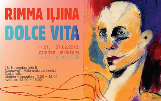"""Rimmas Iļjinas personālizstāde """"Dolce Vita"""" Daugavpils Māla mākslas centrā"""