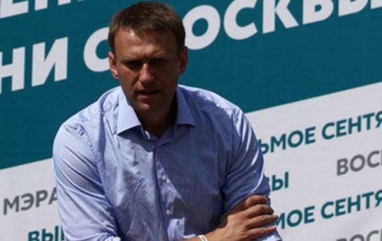 Demonstrācijā Maskavā aizturēts opozicionārs Navaļnijs