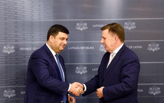 Ukrainas premjerministrs: Ukraina ir un būs uzticīgs Latvijas partneris