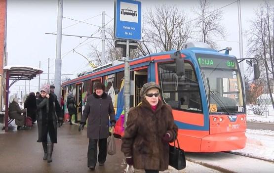Daugavpilī ar tramvajiem pārvadāto pasažieru skaits pērn pieaudzis par 14%