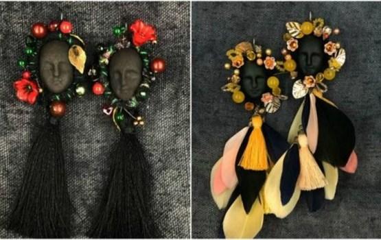 Ārzemju medijus sajūsmina latviešu dizaineres darināti auskari