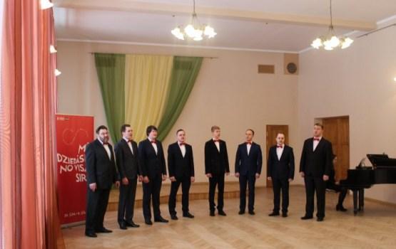 Vokālo ansambļu konkursa Latgales reģiona skatē novadu pārstāvēja trīs kolektīvi