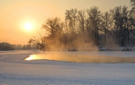 Sestdienas saullēktā skaidrs un līdz -16 grādiem auksts laiks