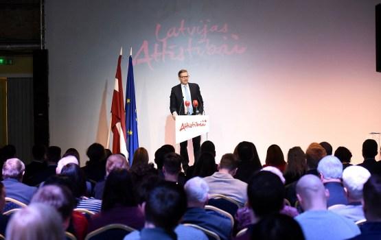 """Gan """"Latvijas attīstībai"""", gan """"Izaugsme"""" kongresos nobalso par dalību trīs partiju apvienībā ar """"Kustību """"Par!"""""""""""