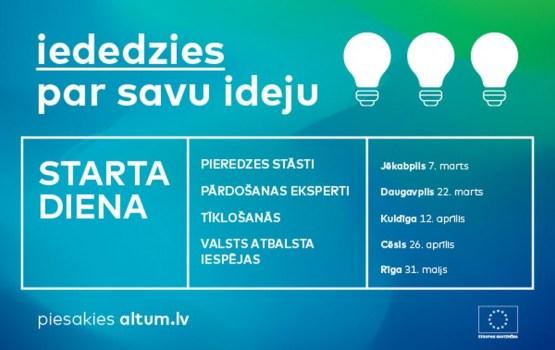 """ALTUM 22. martā Daugavpilī aicina uz """"Starta dienu"""" jaunajiem uzņēmējiem"""