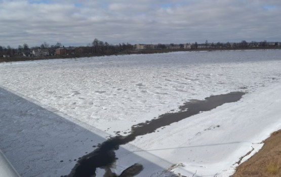 Ledus iešanu Daugavā pie Daugavpils prognozē 10.-14. aprīlī