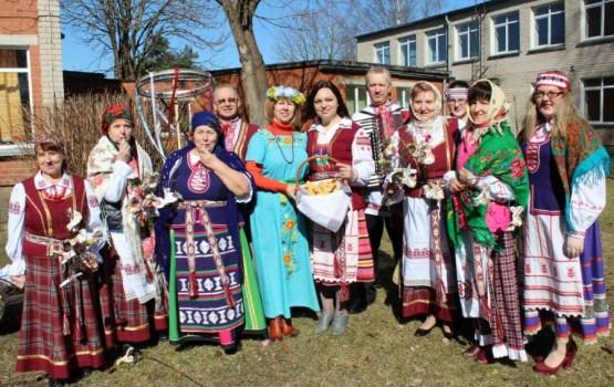Daugavpils baltkrievi sauca pavasari Jēkabpilī