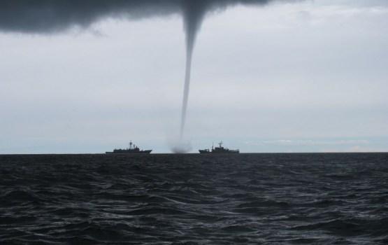 Latvijas tuvumā konstatēts Krievijas bruņoto spēku kuģis