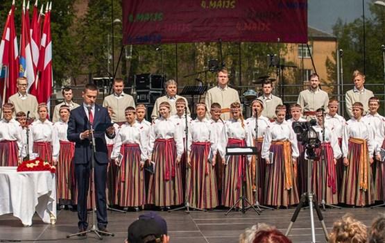 4.maija svinības Daugavpilī