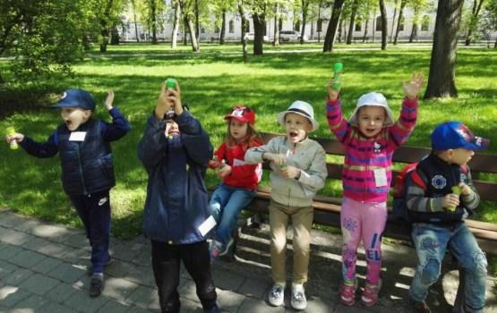 """Daugavpilī norisinājās dienas nometne bērniem """"Raita valodiņa"""""""
