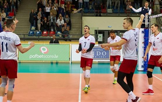 Latvijas izlase svin otro uzvaru Eiropas līgā