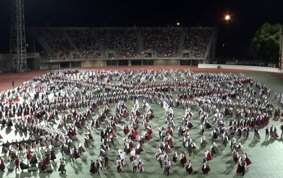 Dziesmu un deju svētku noslēguma koncertu apmeklēja 67 253 cilvēku