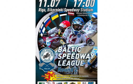 Biķernieku kompleksajā sporta bāzē norisināsies Baltijas Spīdveja Līgas sacensības