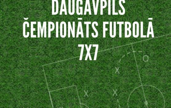 Notiks Daugavpils pilsētas čempionāts futbolā 7x7