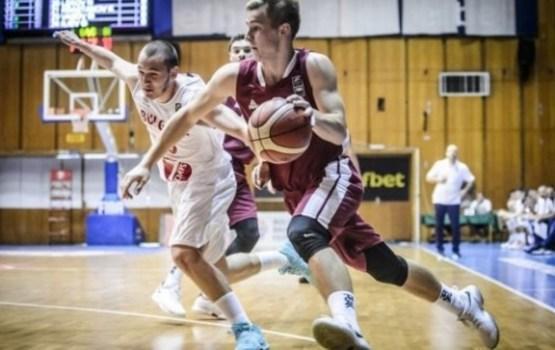 Latvijas U-20 basketbolisti uzvar EČ B divīzijas ceturtdaļfinālā