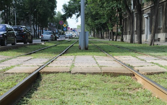 AS ''Daugavpils satiksme'' plāno uzsākt tramvaju līnijas rekonstrukcijas darbus posmā Vienības iela -Stacijas iela