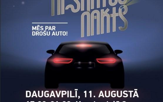 """Daugavpilī notiks šī gada pirmā """"Tehniskā apskates nakts""""; autovadītāji tiek aicināti pieteikties bezmaksas auto diagnostikai"""