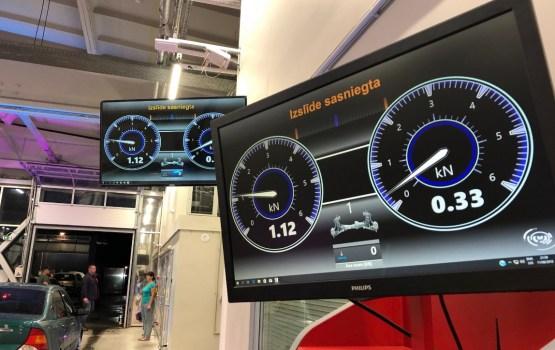 Pirmajā šā gada Tehniskās apskates naktī Daugavpilī pārbaudīti 220 auto
