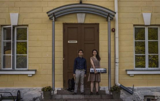 """Itāļu mūziķu apvienības """"Passepartout Duo"""" uzstāšanās Rotko centrā"""