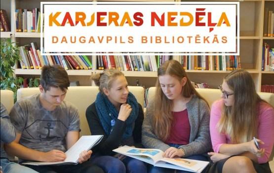 Karjeras nedēļa 2018 Daugavpils bibliotēkās