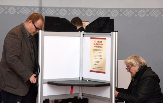Saeimas vēlēšanās līdz plkst.12 nobalsojuši 21,7% vēlētāju