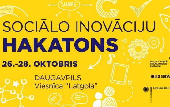 Pirmo reizi Latvijā un Daugavpilī - Sociālo Inovāciju Hakatons