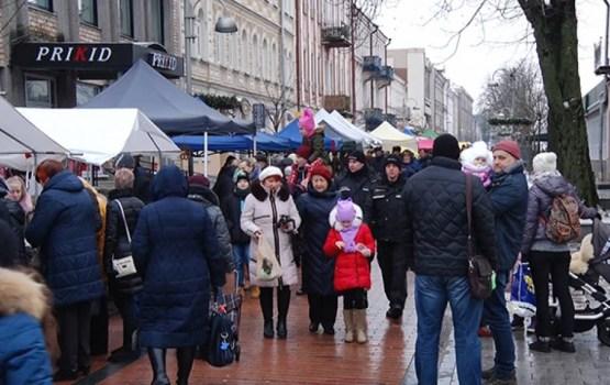 Rīgas ielas tirdziņš 17.novembrī