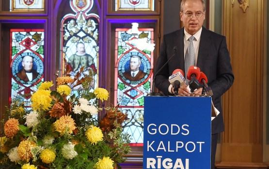 """Ameriku pārvēlē """"Gods kalpot Rīgai!"""" priekšsēdētāja amatā"""
